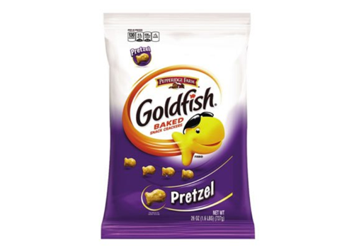 CRACKER GOLDFISH PRETZEL