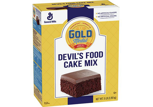 CAKE MIX DEVILS FOOD