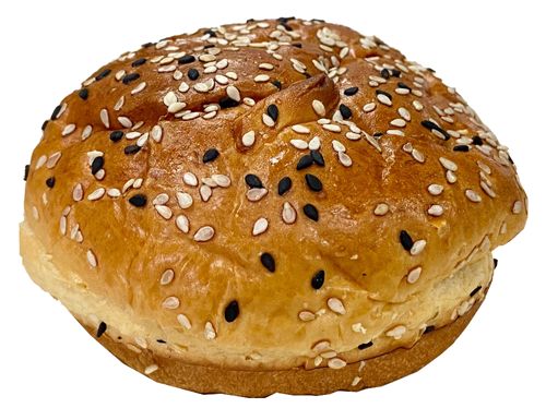 BUTTERY BUN 4 INCH SEEDED