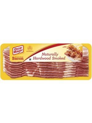 BACON HARDWOOD SMOKED RAW